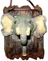 Крючок, ключница слон, лев, гепард, олень, волк, 85х110х60