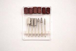 Набор маникюрных и педикюрных насадок (6 шт) для фрезера DP 31