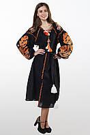 """Сукня вишита """"Бохо"""",  льон, фото 1"""
