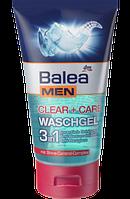 Balea MEN Waschgel clear + care 3in1 - Гель-пилинг 3in1 для ухода за мужской кожей лица, 150 мл