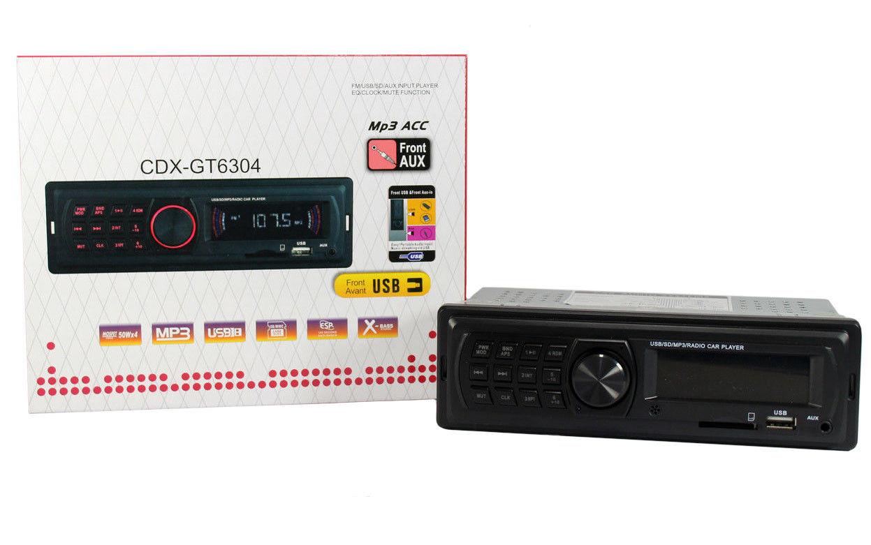 Автомагнитола MP3 CDX-GT6304 ZFX МР3  FM