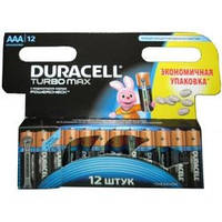 Батарейка Duracell LR03 TURBO MAX MX2400 * 12 (81470124)