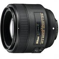 Объектив Nikon Nikkor AF-S 85mm f/1.8G (JAA341DA)