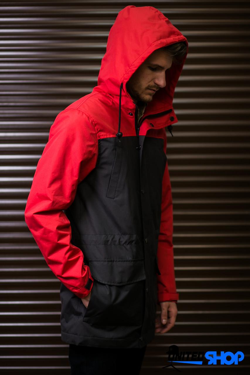 ... Парка куртка ветровка Outfits - TLM Black Red New16 (чоловіча мужская) 90e4a9b34c8a5