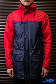 Парка\куртка\ветровка Outfits - TLM Navy/Red_New16 (чоловіча\мужская) Весна-Осінь