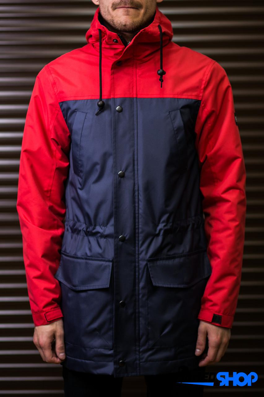 Парка куртка ветровка Outfits - TLM Navy Red New16 (чоловіча мужская) Весна- Осінь 9789b2e7b691d