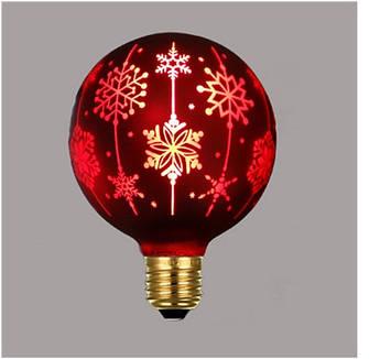 Светодиодная лампочка Е27 декоративная 1W
