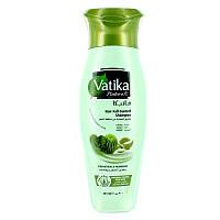 Шампунь Дабур Ватика Контроль выпадения волос 200 мл., Dabur Vatika Naturals Hair Fall Control Shampoo, Аюрведа Здесь