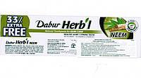 Зубная паста без фтора Дабур Ним, Dabur Herb'l Neem toothpaste, Аюрведа Здесь