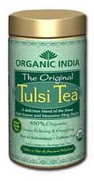 Чай органический Тулси, Базилик, Tulsi, Organic,100 грм. Organic India, Аюрведа Здесь