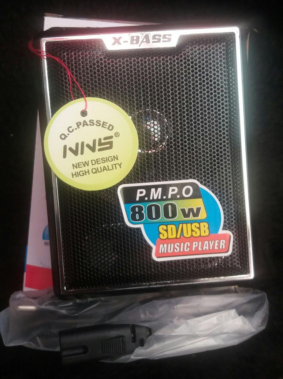 Радиоприемник колонка NNS NS-047U USB/SD