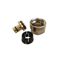 Соединение резьбовое для подключения труб RAUTITAN flex/his/pink 20 к коллекторам и запорной арматур
