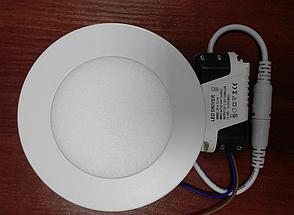 Светодиодный светильник, круг, 12W(Нейтральный), фото 2