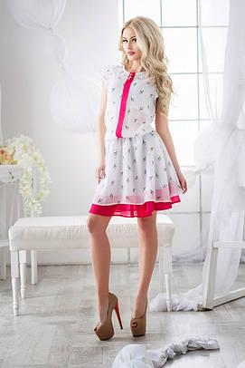 Женское летнее платье №55-638