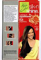 Удивительное нежирное масло для волос Silk-n-Shine Hair Expert, кондиционер, 50 мл, Аюрведа Здесь