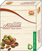 Маска для лица травяная Миндаль Кхади для сухой кожи, Almond Herbal Face Pack Khadi, Аюрведа Здесь