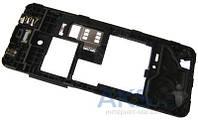 Средняя часть корпуса Nokia 206 Asha Dual Sim Black