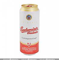 Пиво светлое Budweiser Budvar 10% 0.5 банка Чешская республика