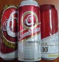 Пиво светлое Gambrinus original 4.3 % 0.5 l ж\б  банка Чешская республика