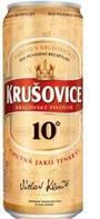 Пиво светлое Krusovice 0,5 л банка Чешская республика