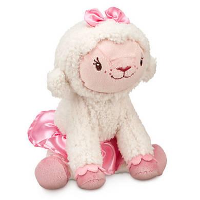 Лэмми плюшевая овечка Доктор Плюшева 18 см Дисней / Lambie Plush Doc McStuffins Disney