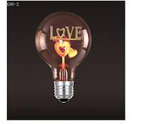 Светодиодная лампочка Е27 декоративная 3W