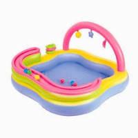 """Детский игровой центр - бассейн  """"Плот"""" BestWay 52125"""
