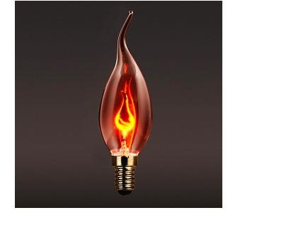 Светодиодная лампочка Е14 декоративная 3W свеча