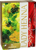 Краска для волос на основе хны Махагони Lady Henna, Аюрведа Здесь!
