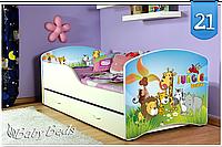Кровать Игорь  160x80 с ящиком