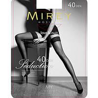 Красивые шелковистые чулки Mirey 40 Den Sed40 купить женские чулки недорого