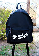 Рюкзак Brooklyn  - Classic Black Backpack Nba Nhl Nfl