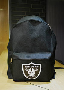 Рюкзак Raiders Oklahoma - Classic Black Backpack Nba Nhl Nfl