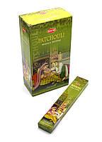 Благовоние Patchouli Masala Small Box Hem с ароматом Патчоли, Аюрведа Здесь