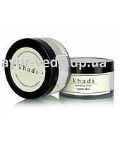 Крем ночной сандал и олива Кхади, khadi herbal nourishing Cream sandal olive, Аюрведа Здесь