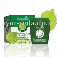 Крем для век Био Утренний Нектар, Bio Morning Nectar Flawless Lightening Eye Cream SPF 30 UVA/UVB Sunscreen, Аюрведа Здесь