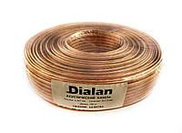 Акустический кабель Dialan CCA 2x1.50 мм ПВХ 100 м