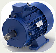 Электромотор - 1,1kW, 1500 об/мин., 230/380 V, вал-24, 3фазы