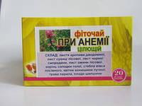 Фиточай при анемии