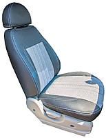 "Авто чехлы MERSEDES-BENZ Sprinter (1+2) ""Нубук Серый""1995-2006"