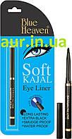 Каджал Софт Каджал чорний, Сурьма для глаз, Blue Heaven Soft Kajal, 0,31 g, Аюрведа Здесь