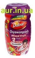 Дабур Чаванпраш фруктовый, Chyawanprash Dabur Mixed fruit flavour Double Immunity & Strength, Аюрведа Здесь