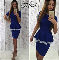 Стильный женский костюм - юбка и кружево