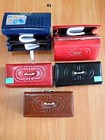Женский кошелек в стиле Feragammo - Новая модель - кнопка, молния, поцелуйчик.