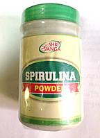 Спирулина 100%, порошок, Spirulina powder Shri Ganga, Аюрведа Здесь