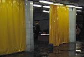 Шторы из ПВХ, ПВХ занавес, тентовые шторы, фото 1