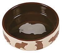 Trixie (Трикси) Ceramic Bowl Hamster Хомяк миска для грызунов 80 мл
