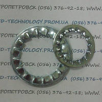 Шайбы стопорные с внутренними зубьями ГОСТ 10462-81, DIN 6798 J