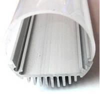 Алюминиевый профиль для светодиодной ленты Премиум, круглый, диаметр 26 мм
