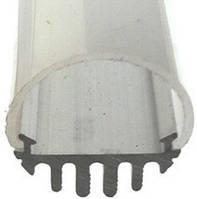 Алюминиевый профиль ПРЕМИУМ для светодиодной ленты, круглый, диаметр 15 мм
